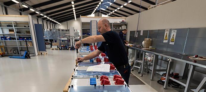 Frisk Mere plads til Pro-Automatic - Electronic Supply DK LW-16