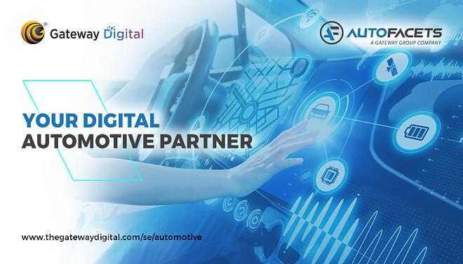 Digital automotive,\nDigitalisering,\nDigital transformation