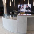 Disk til Carlsbergs Hovedkvarter med Contec Coating, produceret af Contec Prefab A/S