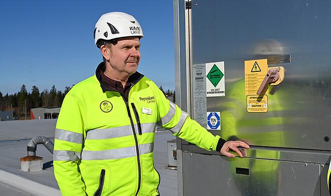 Lars Schön, Maintenance Manager på Nässjö fabrikken