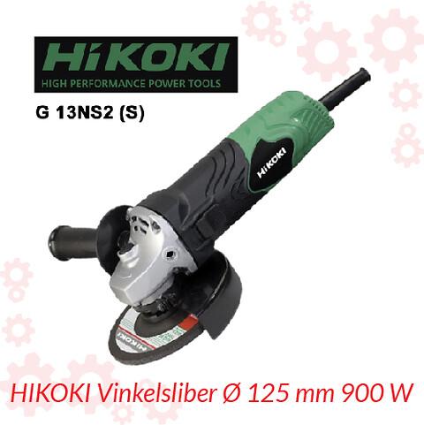 HIKOKI Vinkelsliber Ø 125 mm 900 W