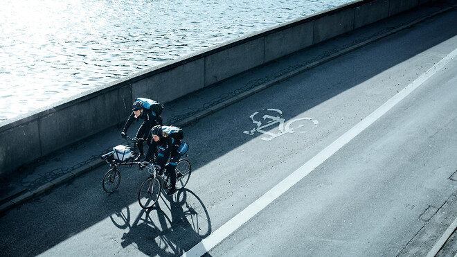 PostNord cykelbude