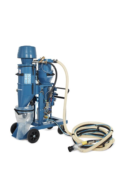 Nederman 418A/460A Vacuum Blaster fra Norclean AS