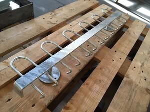 K2 knagerækker produceret af Helge Bruhn A/S