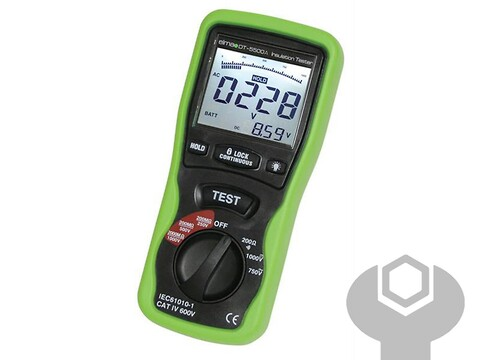 Multimeter - isotester dt 5500A elma