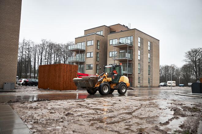 Byggeri af lejeboliger i Vejen Kommune