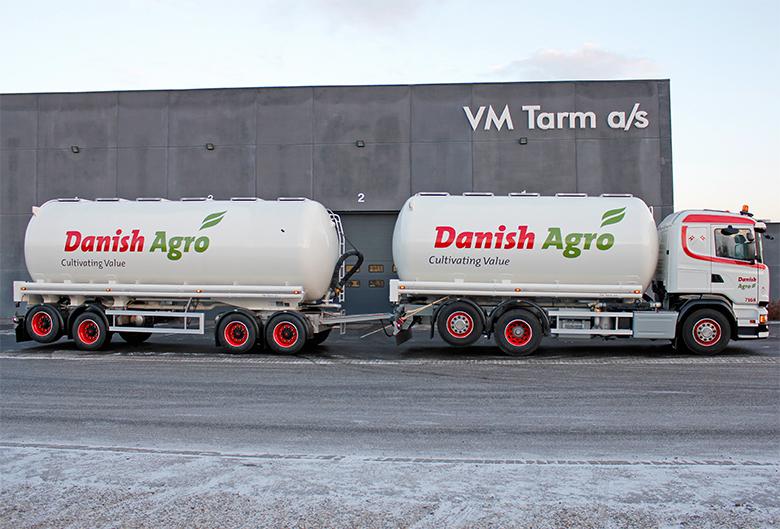 VM Tarm a/s leverer vogntog til Danish Agro a.m.b.a. - Transportmagasinet