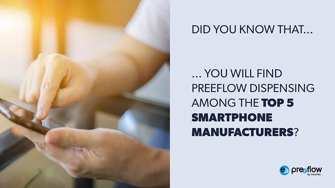 optical bonding preeflow smartphone