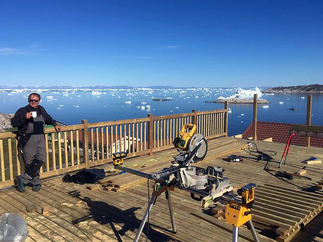 DC-Supply leverer special container løsning til souvenirbutik på Grønland