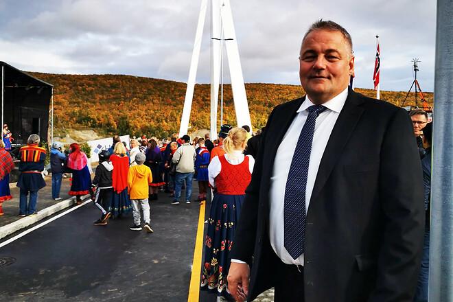 Byggledare Ole Kleven hos norska trafikverket är nöjd med att ha fullfört projektet utan ekonomiska överskridelser och menar att digital dokumentation har varit en starkt bidragande faktor.