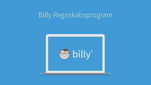 Kom i mål med dit årsregnskab og selvangivelse  - Billy regnskabsprogram