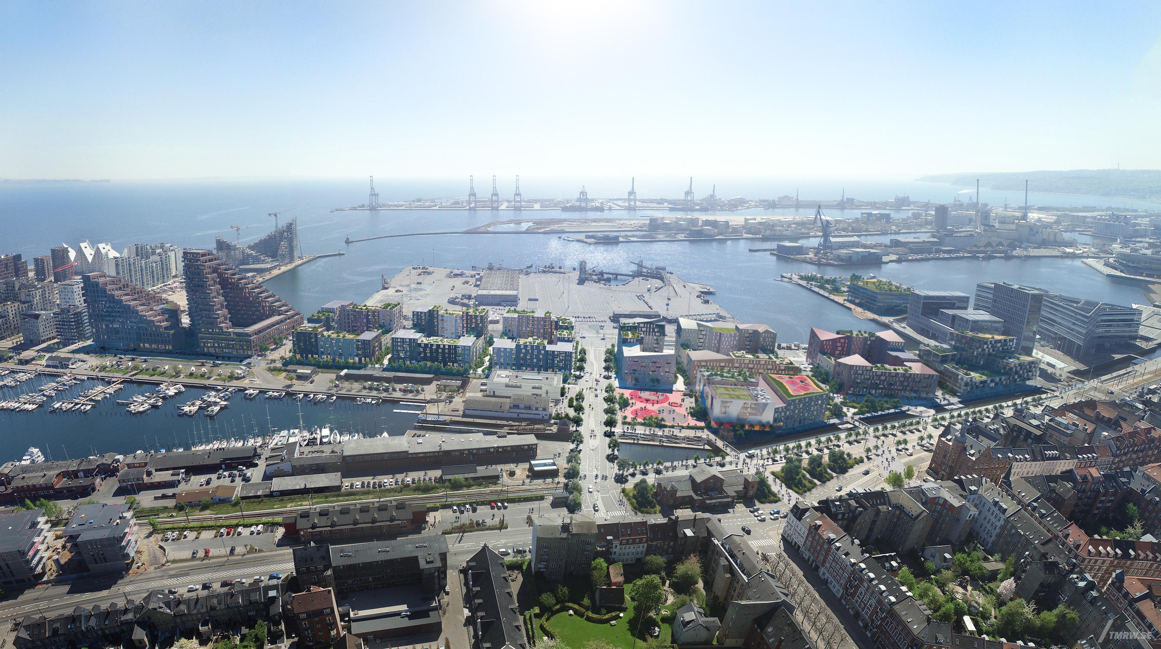 Her Er Planen For Indre Aarhus O Building Supply Dk