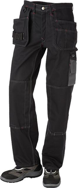 Arbejdsbukser, sort/koksgrå - 9204