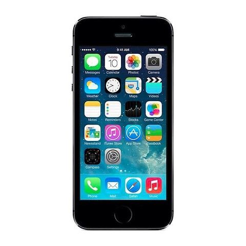 Apple iPhone 5S 16GB (Space Gray) - Grade B - mobiltelefon