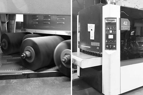 Afgratning af rustfrit stål med og uden laserfilm kontakt Lars Broe Rustfri stål - Afgratning af rustfri stål