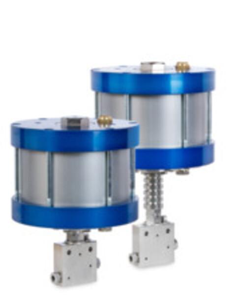 Hydrogenventiler fra Maximator - ventiler, ventil, valves, hydrogen, H2, fitting, luft aktuerte ventiler, air actuated valves