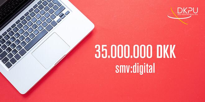 Få et tilskud til at udvikle din virksomhed på enten 25.000 kr., 100.000 kr. eller 250.000 kr. med svm:digital