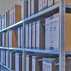 DCC har lageret af færdigvarer på lagerreoler fra Hans Schourup