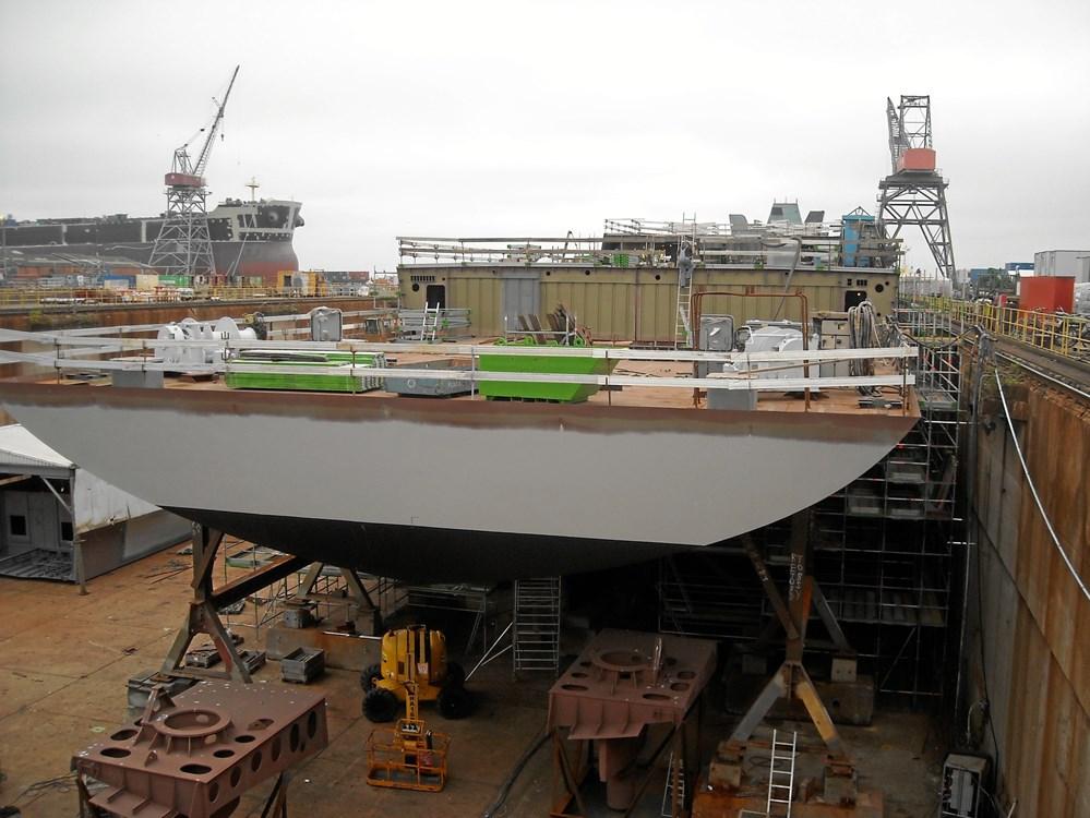 Danskere i spil til Royal Navy's nye krigsskibe - Søfart