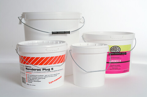 Plastspande 1-33 liter - velegnet til fødevarer