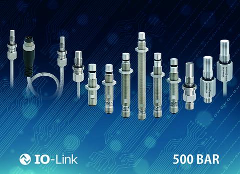 Robuste højtryk induktive sensorer med IO-link til industri 4.0 applikationer - Induktive sensorer til højtryks applikationer IO-Link