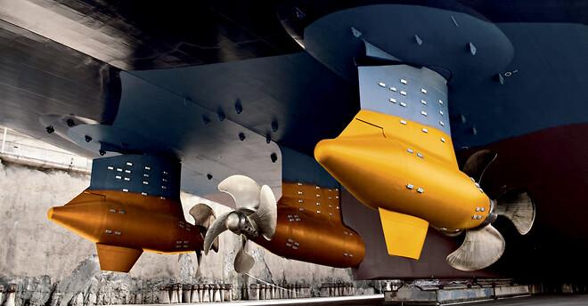 Klüber Lubrication förser sjöfartsindustrin med ett komplett sortiment av specialsmörjmedel