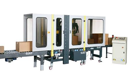 Siat SM44 - Kartonlukker, Kartonlukning, SIAT, Automatisk pakkelinje, Automatiske pakkelinjer, SIAT SM44