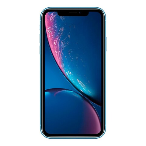 Apple iPhone XR 64GB (Blå) - Grade B - mobiltelefon