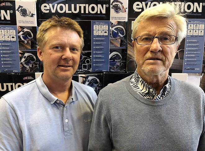 Joakim Franzén och Erland Molin