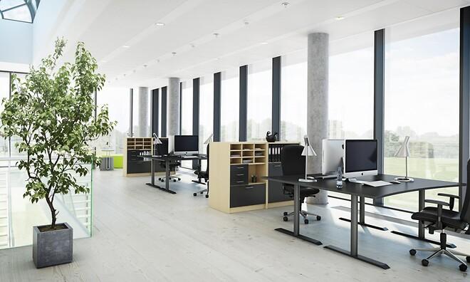 Kontorindretning arbejdspladsen og arbejdsstationen