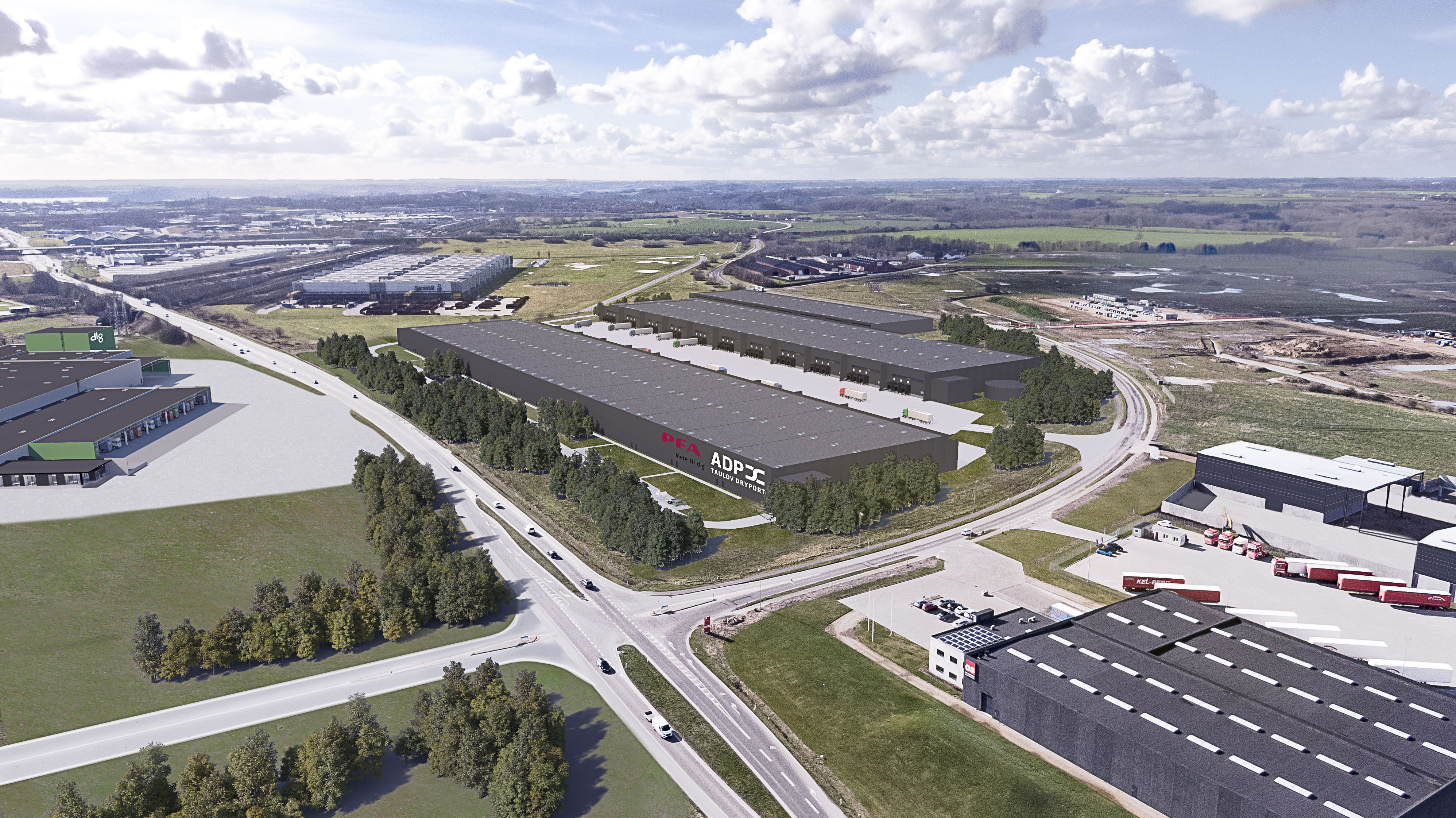 Maersk Og Adp Vil Bygge For En Milliard Kroner I Taulov Leder Idag