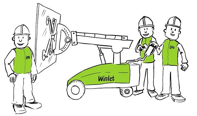 Winlet vinduesløfter fra GMV
