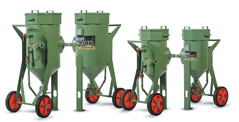 Sandblæsningsbeholdere - blæsebeholder