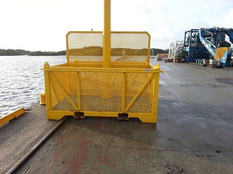 Subsea basket - A Olufsen Ship & Offshore AS