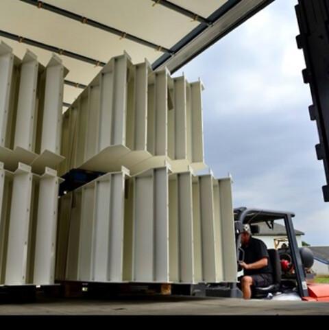 Aluminium  /  Transport og lagring af lakerede emner
