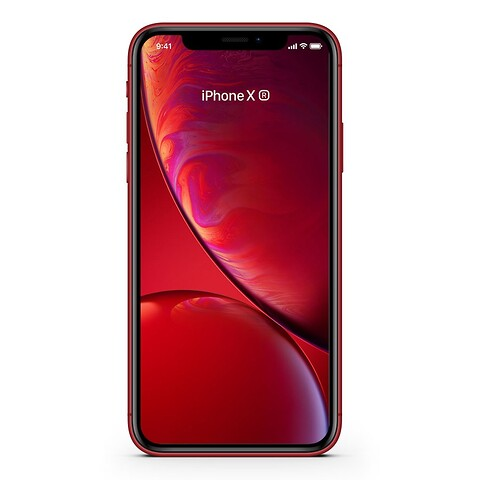 Apple iPhone XR 256GB (Rød) - Grade B - mobiltelefon