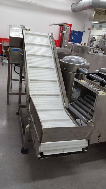 Scanpak Conveyor w/ variable speed null