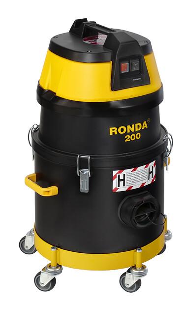 RONDA 200H Power - dansk industristøvsuger med nyeste motorteknologi