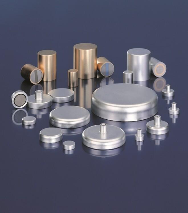 Potmagnet, magnet, fixation,