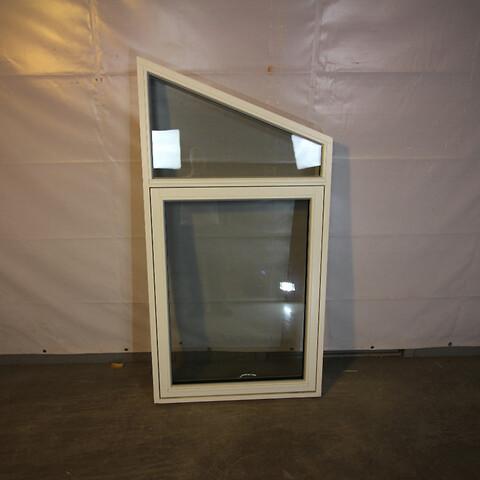 Topstyret fast vindue, træ, 009504