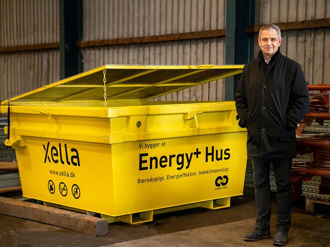 Xella udvider deres prisvindende takeback-ordning med en containerløsning, der er specifikt målrettet det stigende antal projekter, som gør brug af byggeblokken YTONG Energy