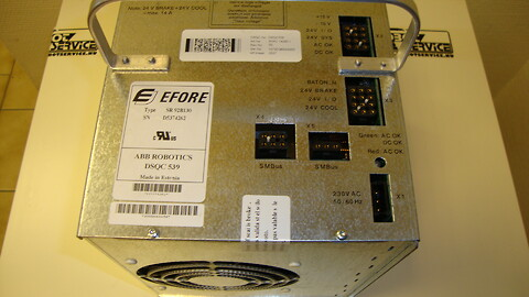 DSQC539 Power Supply Process