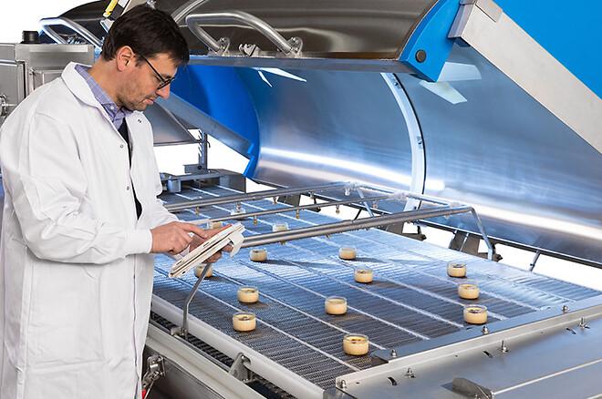 testcenter, Foodhills, Air Liquide, køling, frysning og emballering af levnedsmidler