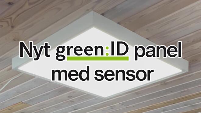 LED panel med sensor