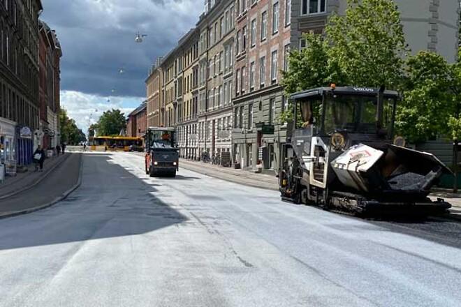 Colas har udlagt fotokatalytisk asfalt i Frederiksberg Kommune