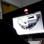 Komponentanalyse, CT scanning af headset