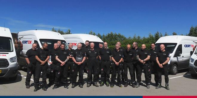 CERTEX Danmarks serviceteam