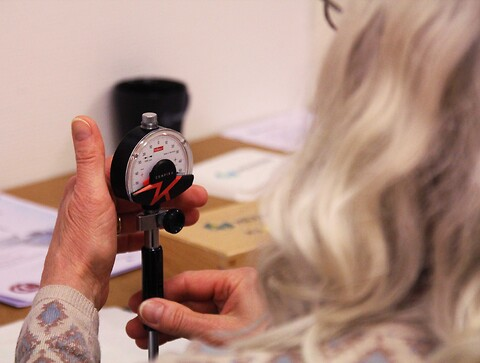 Kontroll och kalibrering av handmätdon, kort - Eskilstuna