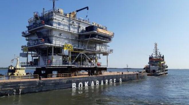 Northwester 2 Offshore Substation... Bye Bye