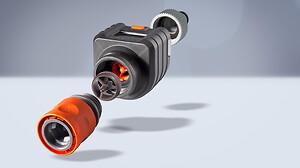 Formsprutad magnetisk rotor för flödesmätare från Gardena.